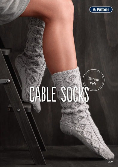 Cable Socks Leaflet 0020