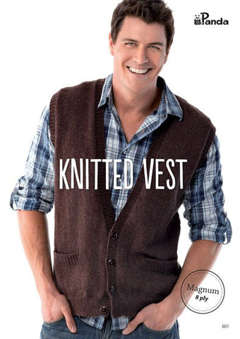 Knitted Vest 601