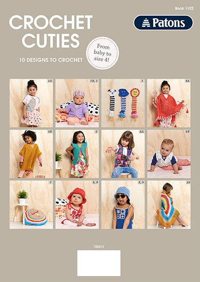 1102 Crochet Cuties