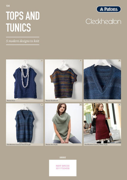 104 Tunics and Tops