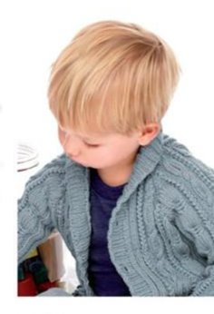 Boy's Cable Cardi 152