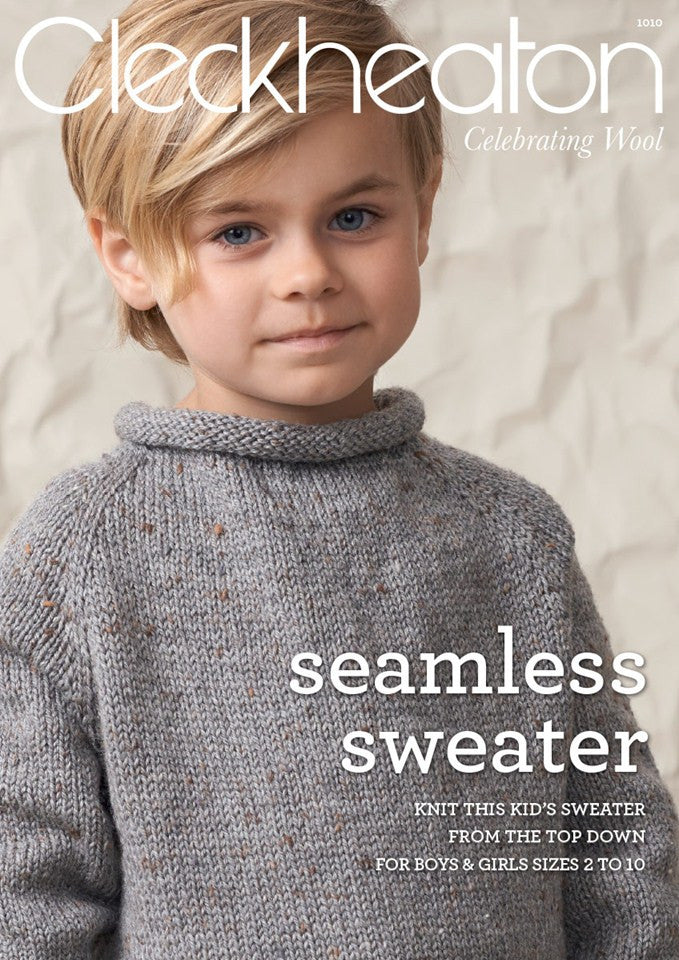 New Seamless Sweater 1010 Cleckheaton Knitting Crochet Sewing