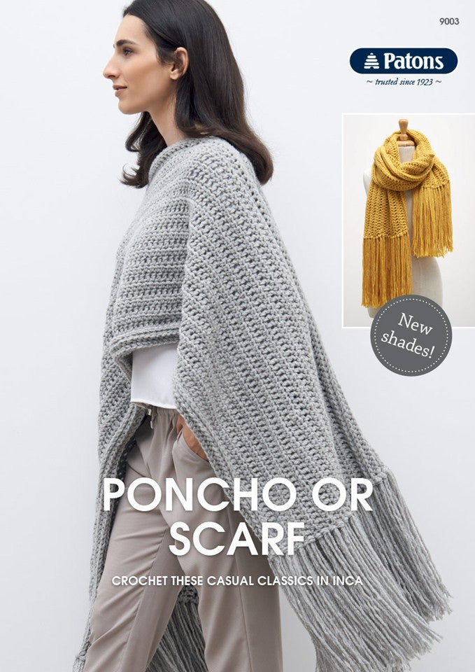 Poncho and Scarf 151
