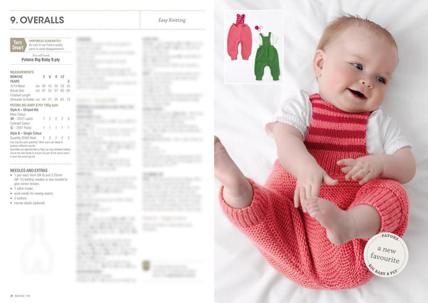 1105 Mod Knits in Big Baby