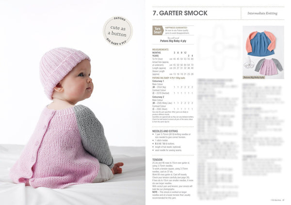 Mod Knits in Big Baby 1105
