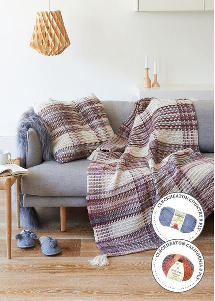 360 Cosy Throws & Rugs Pattern Book