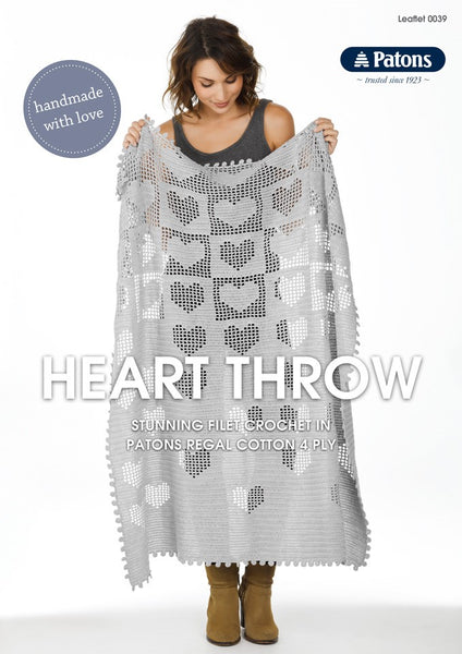 Heart Throw Leaflet 0039