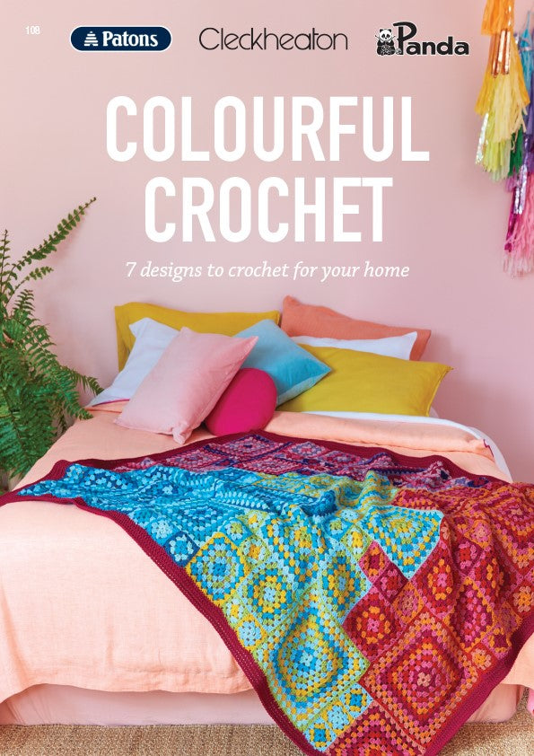 108 Colourful Crochet Pattern Book
