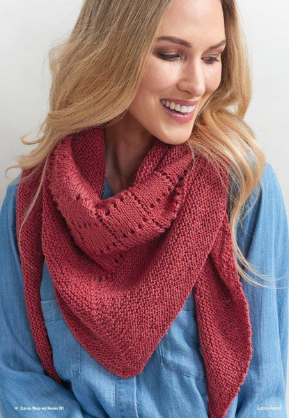 Scarves, Wraps and Beanies Pattern Book 361
