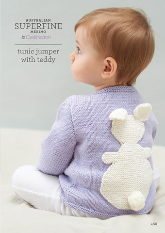 468 Tunic Jumper with Teddy