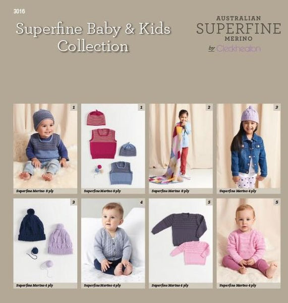 3016 Superfine Baby & Kids Collection