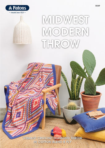 0049 Midwest Modern Throw