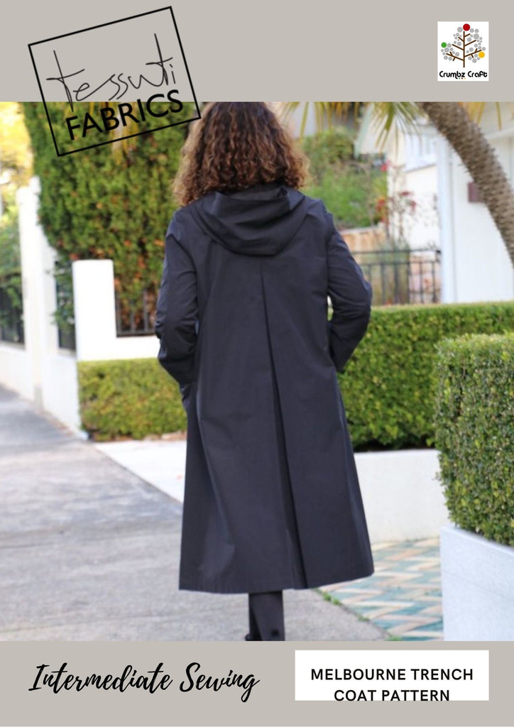 4229 Melbourne Trench Coat Pattern