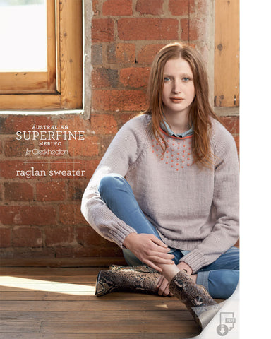 Superfine Merino - Raglan Sweater