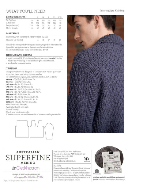 409 Shawl Collar Pullover
