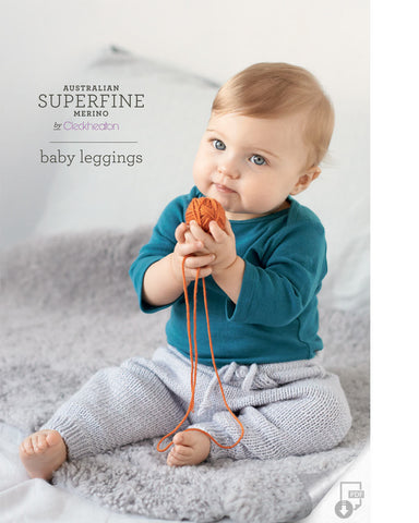 Superfine Merino - Baby Leggings 420