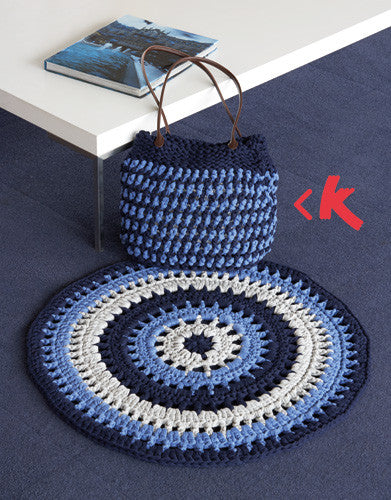 Mat & Knitted Bag Tx230
