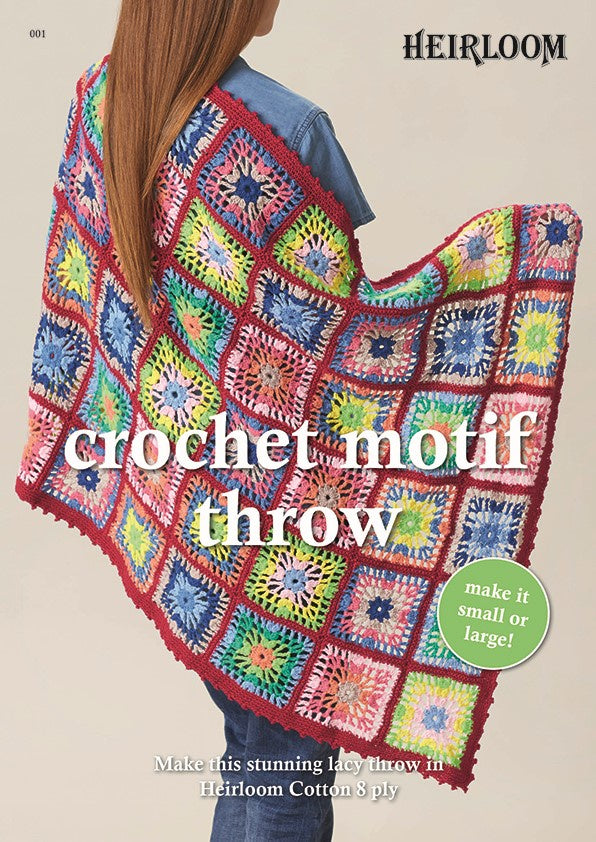 001 Crochet Motif Throw