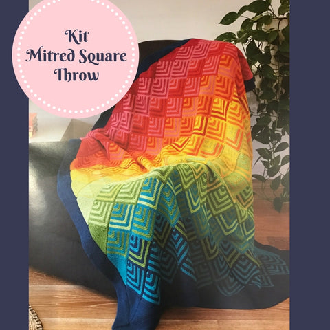 Mitred Square Throw Kit