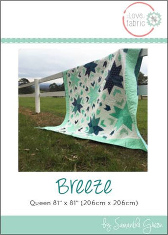 Breeze Quilt Pattern