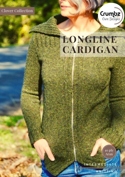 COD019 Longline Cardigan (Digital Pattern)