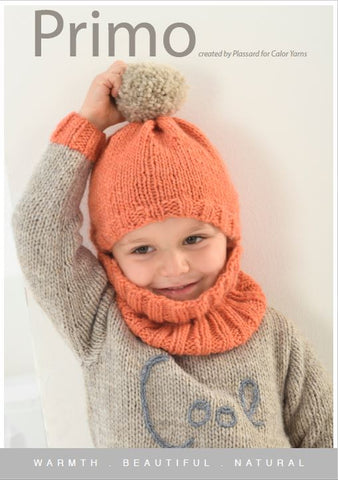 CY097 Primo Beanie & Neck Warmer (Digital Pattern)