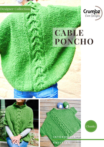 COD025 Cable Poncho (e-pattern)