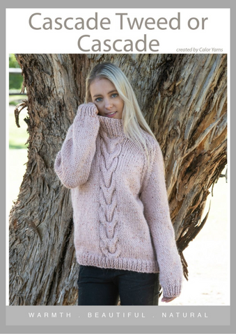 CY118 Cable Sweater (Digital Pattern)