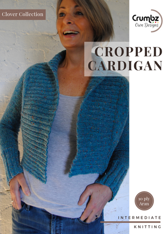 Cropped Cardigan (digital pattern)