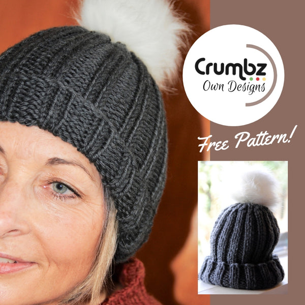 Ribbed Beanie (digital pattern)