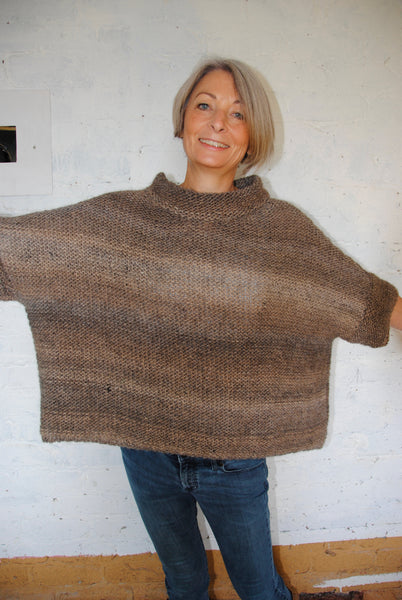 Slouchy Poncho (Digital Pattern)