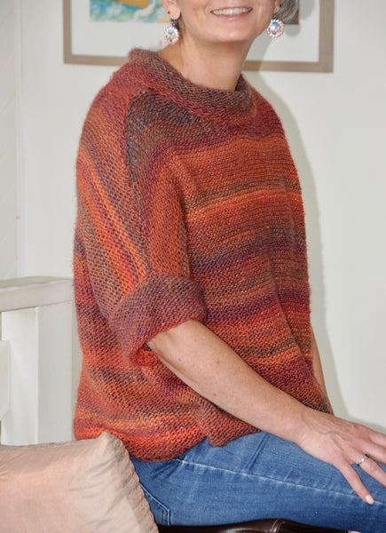 COD001 Slouchy Poncho 10 ply (Digital Pattern)