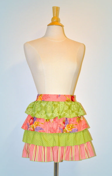 Crumbz Sophie Apron (retro half apron - click to view colour range)