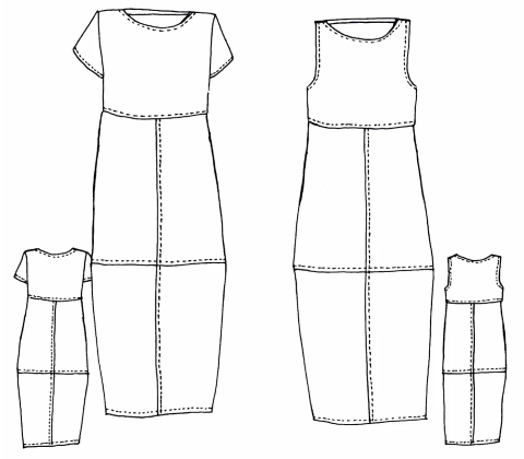 4231 Eva Dress Sewing Pattern