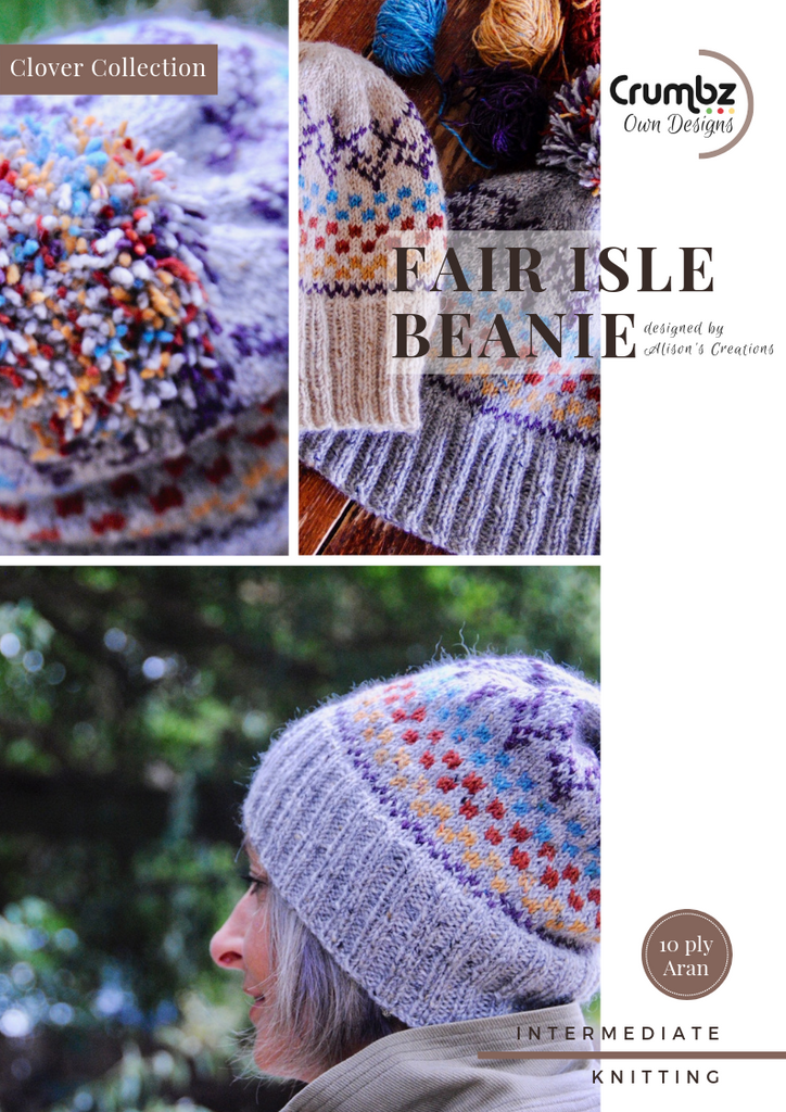 COD013 Fair Isle Beanie Kit