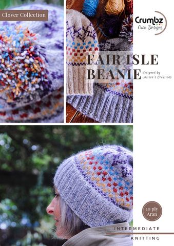 Fair Isle Beanie (Digital Pattern)
