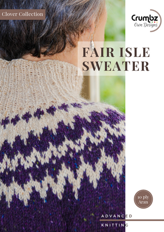 Fair Isle Sweater (Digital Pattern)