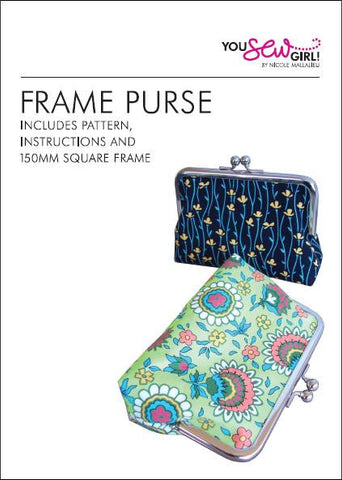 Frame Purse Pattern 150mm