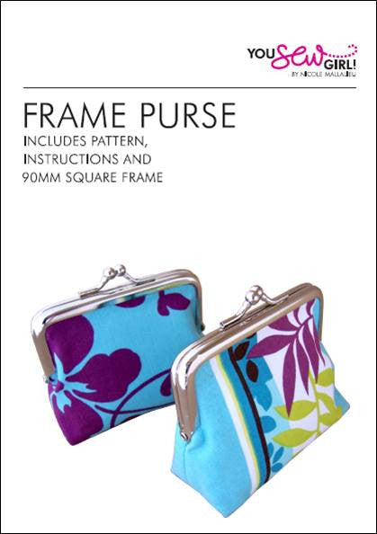 Frame Purse Pattern 90mm