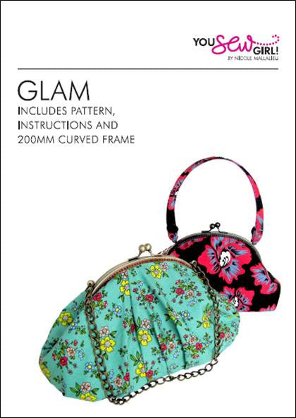 Glam Purse Pattern 200mm