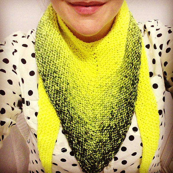 Swan Dive Scarf (Digital Pattern)
