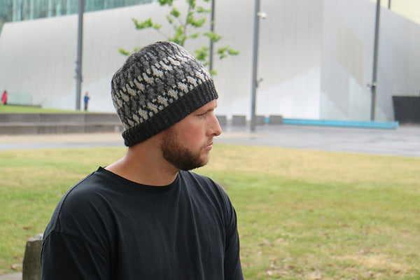 Bluegum Colourwork Beanie