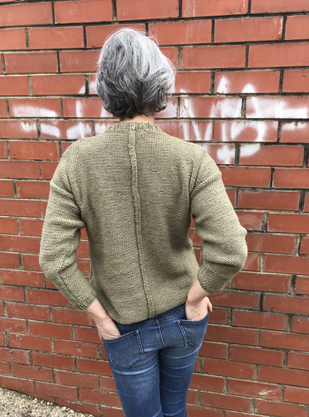 CY126_B Oak Classic Sweater (Digital Pattern)