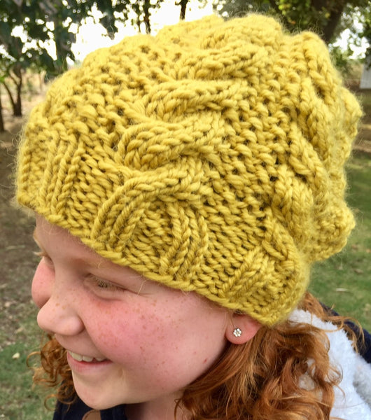 Kiwi Beanie (Digital Pattern)