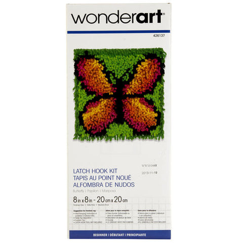 Latch Hook Butterfly Kit