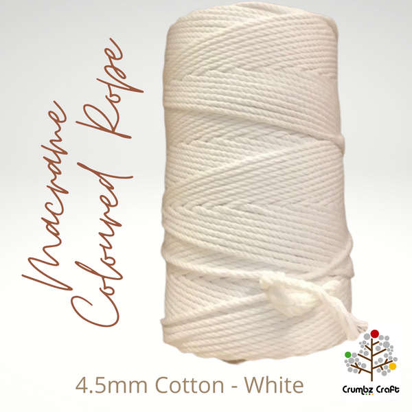 Macrame Cotton Rope 4.5mm