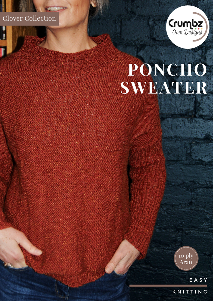 COD005 Poncho Sweater (Digital Pattern)