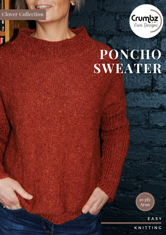 Poncho Sweater (Digital Pattern)
