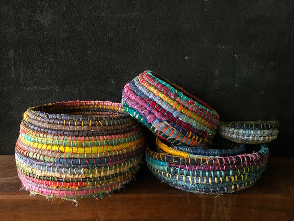 Textile Basket Weaving with Ruth Woods