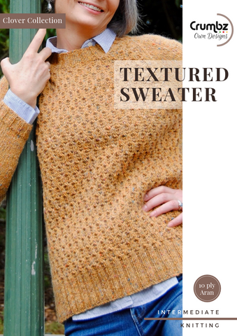 Textured Sweater (Digital Pattern)